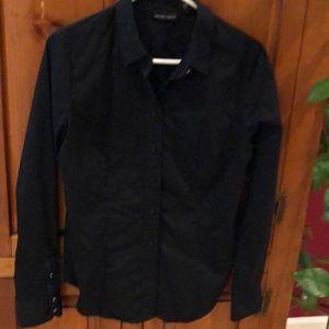 NY&CO black button down size medium